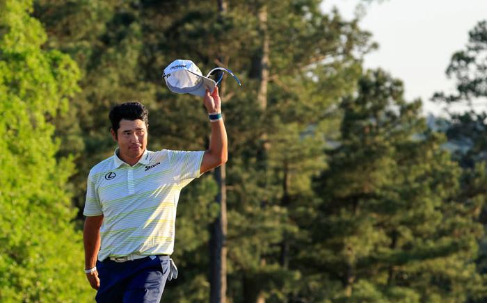 Hideki Matsuyama won the 2021 Masters title. Picture: @TheMasters/Twitter
