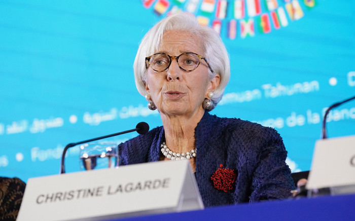 IMF managing director Christine Lagarde. Picture: @IMFLive/Twitter.