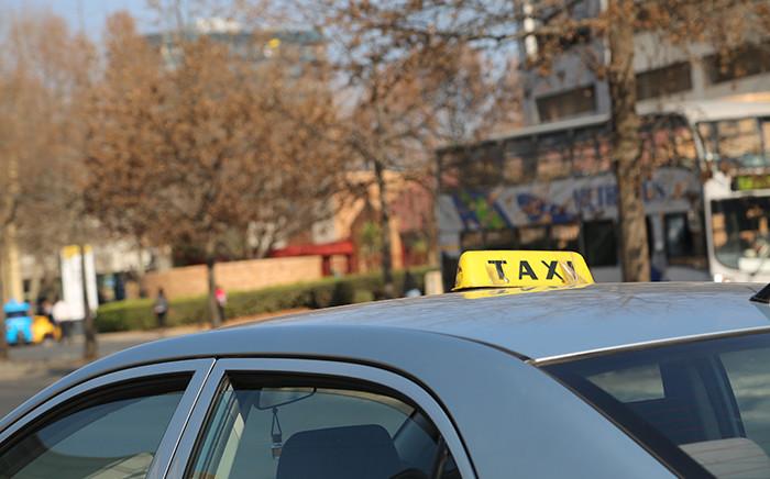 Johannesburg metered taxi services in Sandton. Picture: Reinart Toerien/EWN.