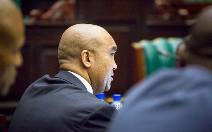 FILE: Former NPA director Shaun Abrahams in Parliament. Picture: EWN