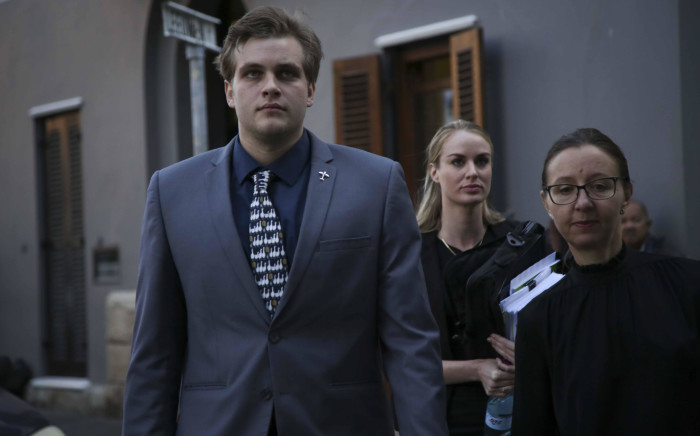Triple murder accused Henri van Breda enters the Western Cape High Court. Picture: Cindy Archillies/EWN.