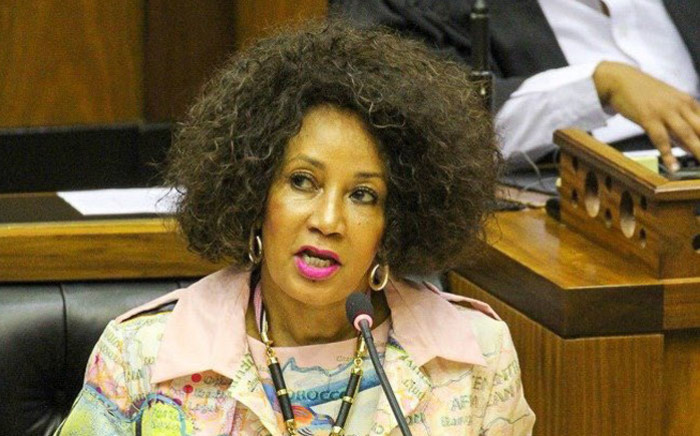 FILE: Human Settlements Minister Lindiwe Sisulu. Picture: @The_DHS/Twitter