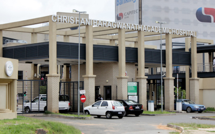 The Chris Hani Baragwanath Hospital where a patient had been asked to return in seven years for a hip replacement procedure. Picture: EWN