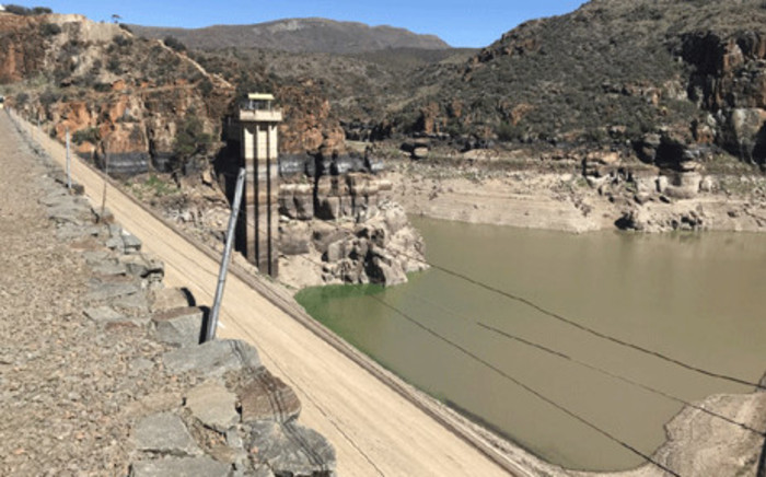 The Gamkapoort Dam in Beaufort West pictured on 13 December 2017. Picture: Kevin Brandt/EWN