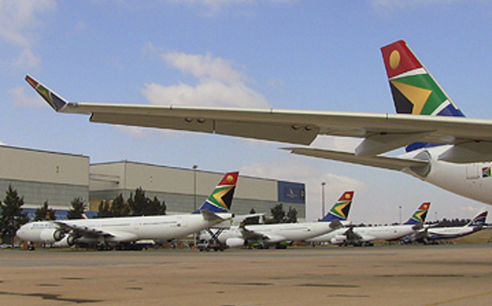 FILE: Parked SAA planes. Picture: EWN