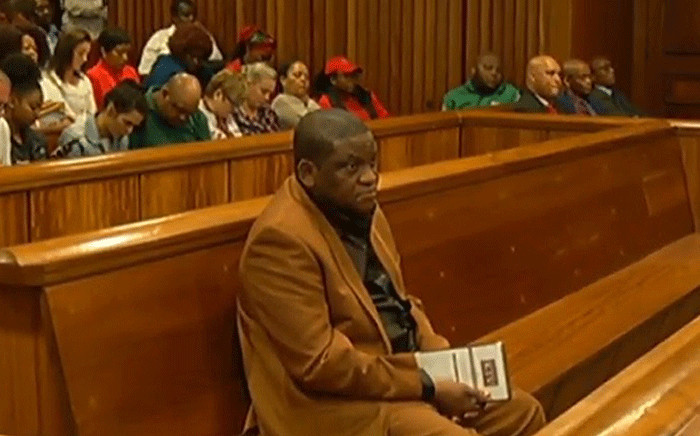 FILE: A screengrab shows pastor Timothy Omotoso in the Eastern Cape High Court on 22 October 2018. Picture: SABC Digital News/youtube.com