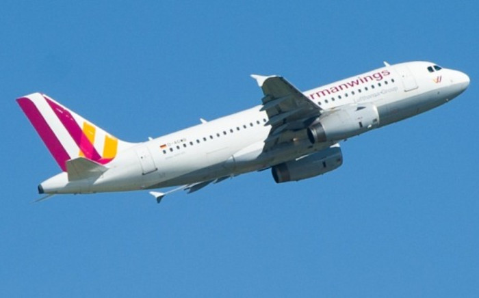 A plane of Lufthansa's low-cost subsidiary Germanwings in flight. Picture: AFP.