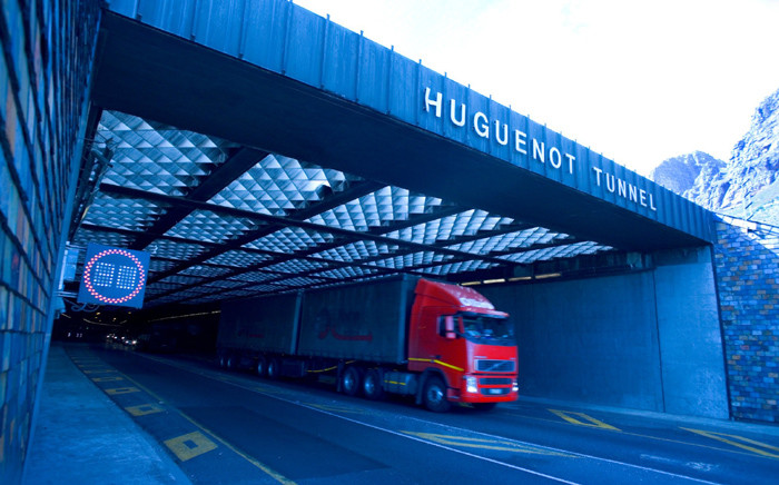 FILE: A general view of the Huguenot Tunnel. Picture: @SANRAL_za/Twitter.