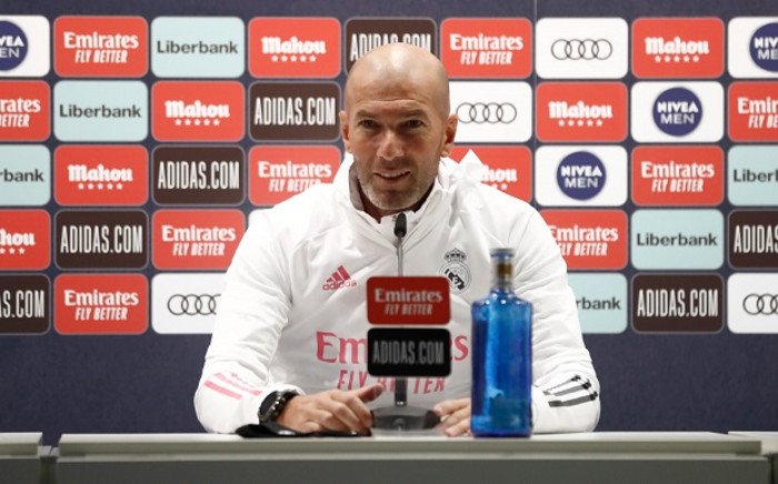 French former football player and today Real Madrid's head coach Zinedine Zidane. Picture: @realmadrid/Twitter