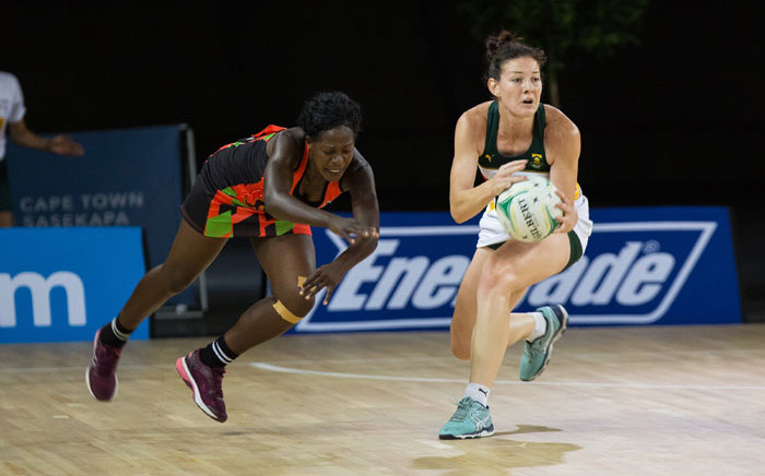 FILE: South Africa played Malawi in the Africa Netball Cup at Bellville Velodrome, Cape Town on 18 October 2019. Picture: @Netball_SA/Twitter