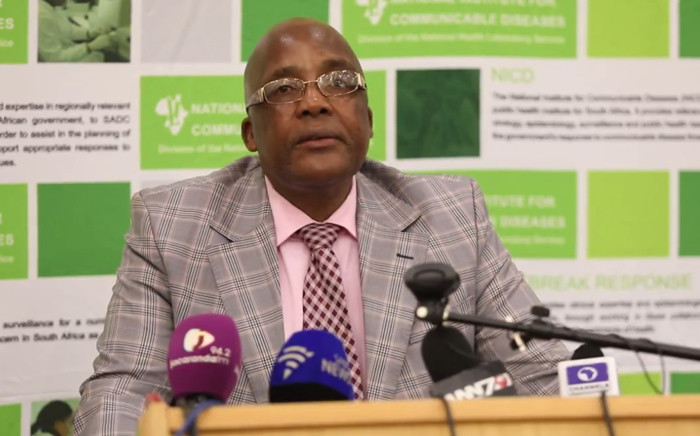 FILE: Minister of Health Aaron Motsoaledi updates the media on listeria outbreak in South Africa. Picture: EWN