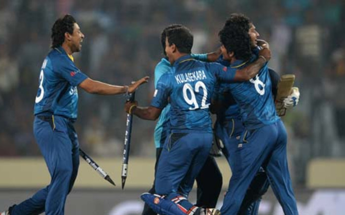 ICC World Twenty20 cricket final match between India and Sri Lanka at The Sher-e-Bangla National Cricket Stadium in Dhaka on April 6, 2014. Sri Lanka won by six wickets. Picture: AFP.