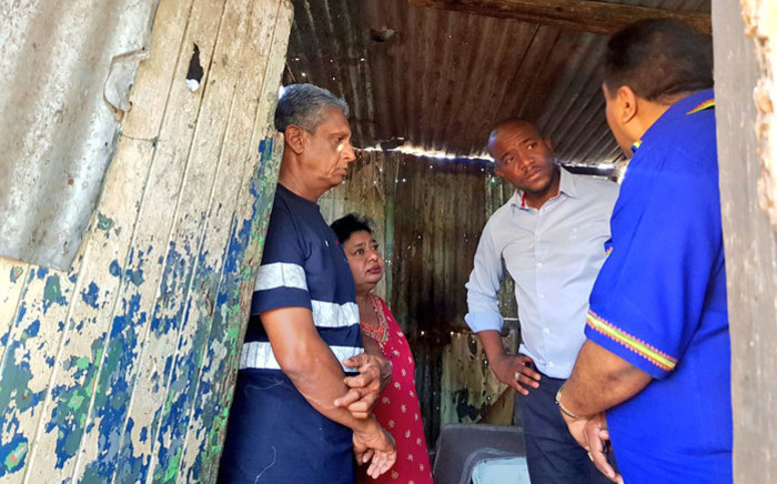 DA leader Mmusi Maimane on the campaign trail in Stanger, KwaZulu-Natal on 2 May 2019.Picture: @Our_DA/Twitter