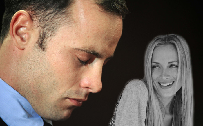 Oscar and Reeva: One year later.  Picture: EWN