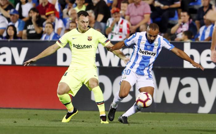Barcelona's Thomas Vermaelen in action. Picture: @FCBarcelona/Twitter