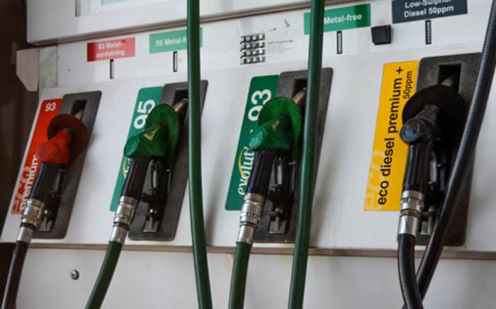Petrol pump. Picture: Michelle Lubbe/EWN.