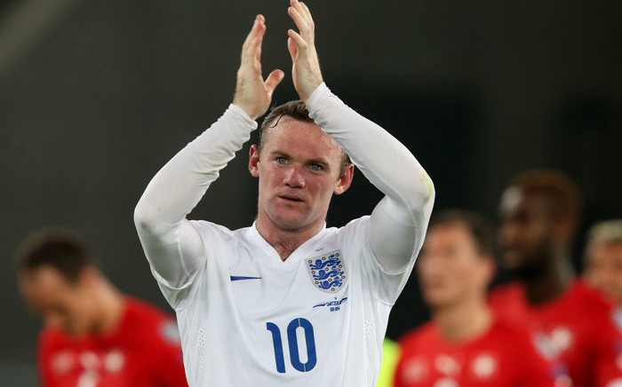 FILE: England striker Wayne Rooney. Picture: @WayneRooney/Twitter