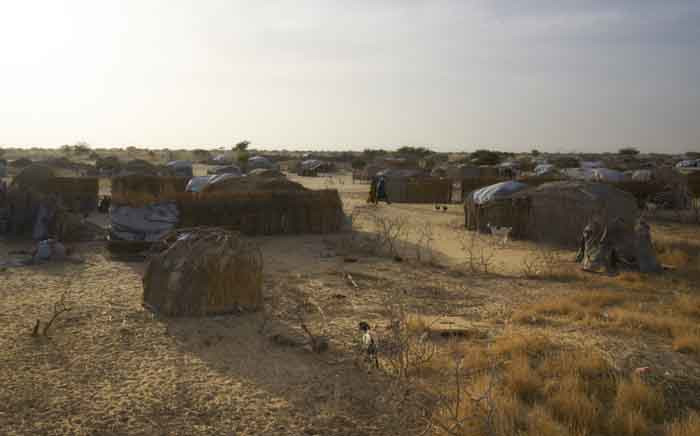 FILE: A picture taken on 8 November 2018 shows the refugee camp of Baga Sola in Southern Chad, where more than 10,000 refugees and internal displaced coming from Chad, Nigeria, Niger and Camerun found a shelter from Boko Haram's threat. Picture: AFP