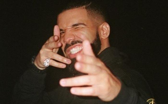 Rapper Drake. Picture: @champagnepapi/Instagram.
