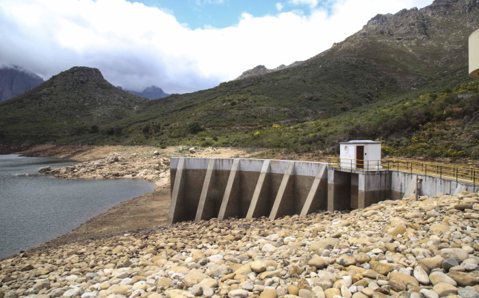 FILE: The Wemmershoek Dam in the Western Cape is currently just over 49% full. Picture: Cindy Archillies/EWN.