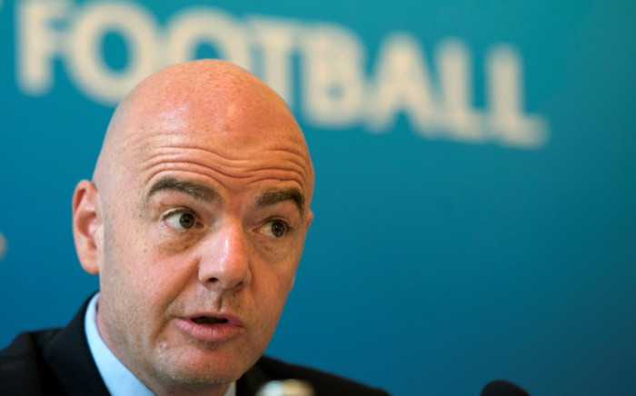 Uefa secretary general Gianni Infantino. Picture: AFP.