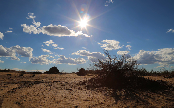 FILE: A scene from the drought-stricken Free State.  Picture: Christa Eybers/EWN.