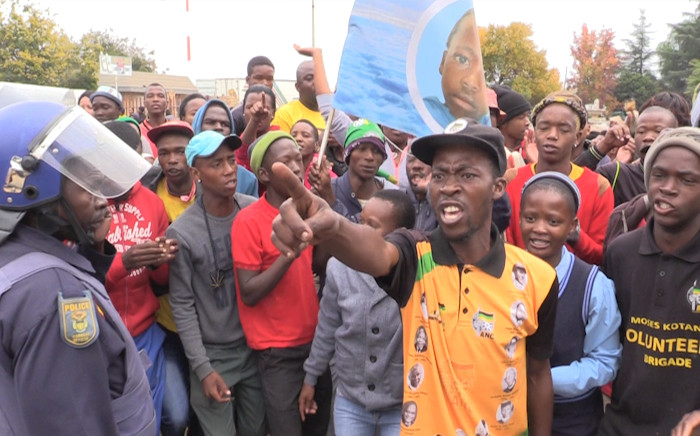 Coligny community members outraged as murder accused granted bail. Picture: Kgothatso Mogale/EWN.