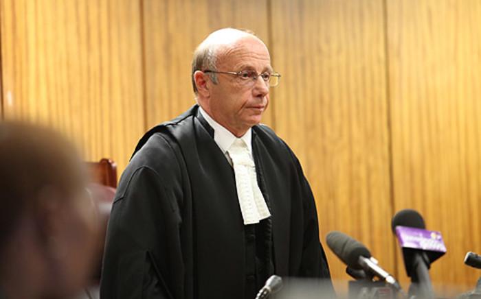 North Gauteng High Court judge Louis Vorster. Picture: Taurai Maduna/EWN