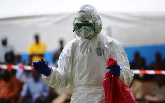 The World Bank has spoken out on the regional impact of the Ebola epidemic. Picture: AFP.