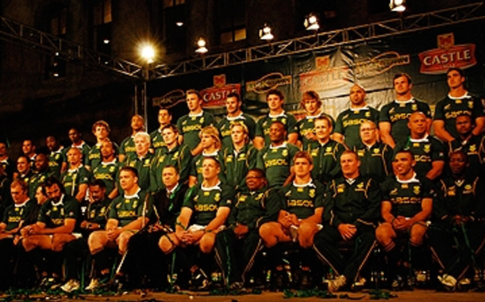 South African rugby team, the Springboks. Picture: EWN