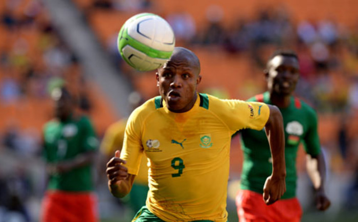 South African soccer team, Bafana Banfana's Buhle Mkhwanazi, Picture: AFP/ ALEXANDER JOE
