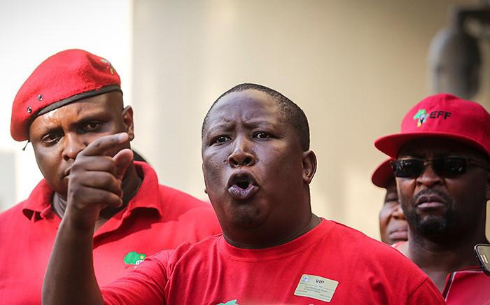 FILE: EFF leader Julius Malema. Picture: Reinart Toerien/EWN.