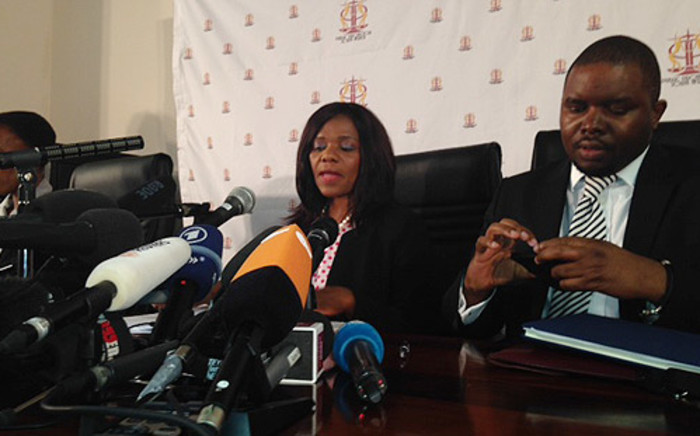 The Public Protector Thuli Madonsela releases the findings about Nkandla homestead during a press conference in Pretoria on 19 March 2014. Picture: Sebabatso Mosamo/EWN.