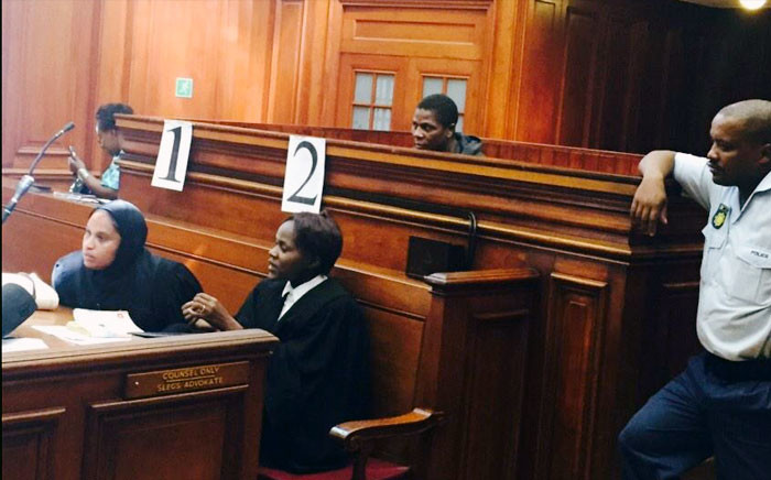 The man dubbed the 'Cannibal Killer' in the Western Cape High Court on 16 February 2015. Picture: Siyabonga Sesant/EWN.