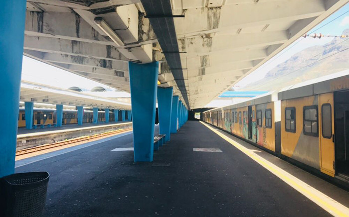 Cape Town train station. Picture: @CapeTownTrains/Twitter.
