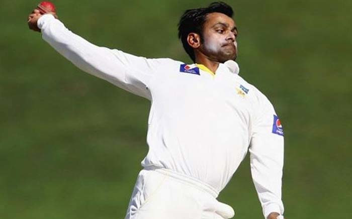 Pakistan offspinner Mohammad Hafeez. Picture: Twitter/@iAbsara19