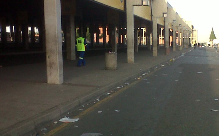 FILE: The Bara taxi rank in Soweto.  Picture: @Ayanda007 via Twitter.