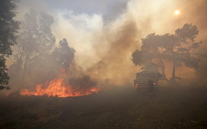 Wild fire. Picture: EWN