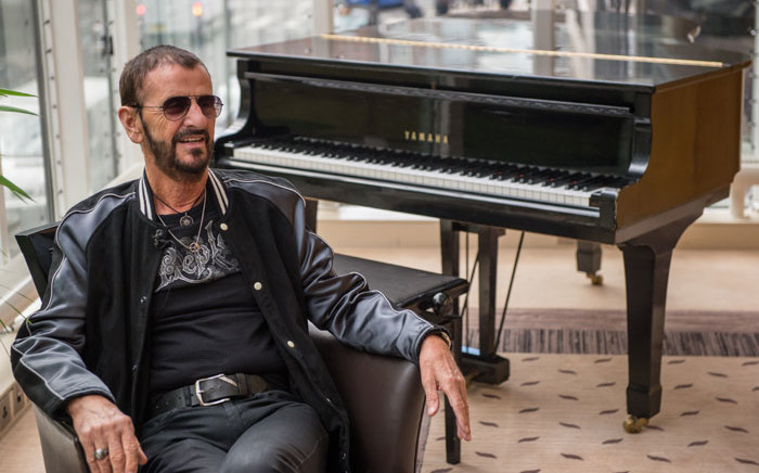 Ex-Beatles drummer Ringo Starr. Picture: AFP