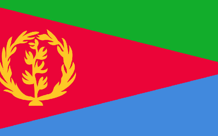 The Eritrean flag. Picture: Supplied
