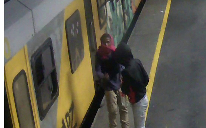 FILE: Prasa released CCTV images to encourage the public to come forward with information that could lead to the arrests of the four arsonists. Picture: Supplied