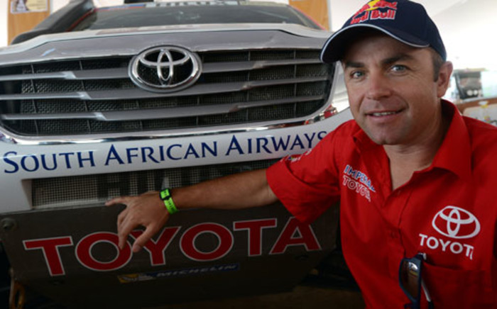 Toyota Imperial driver Giniel de Villiers finished in eighth and has now moved up to third overall. Picture: AFP