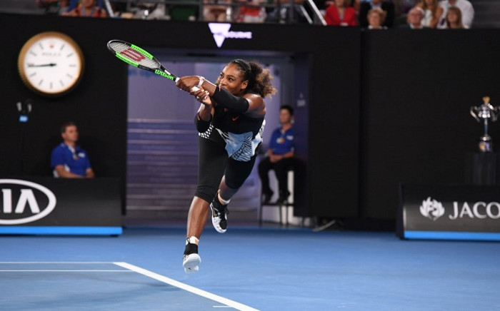 FILE: Serena Williams during the Australian Open. Picture: Twitter/@AustralianOpen