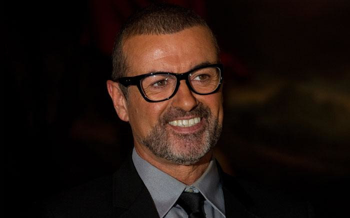 George Michael. Picture: AFP.