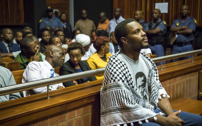 FILE: Mceboi Dlamini at the Palm Ridge Magistrates Court. Picture: Thomas Holder/EWN