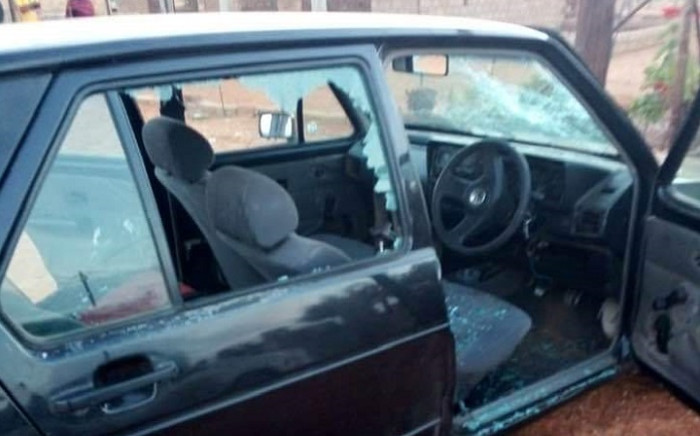Two people were shot and sixteen others were injured during branch general meetings in Lephalale on 19 June 2021. Picture: @KwenaMolekwa/Twitter.