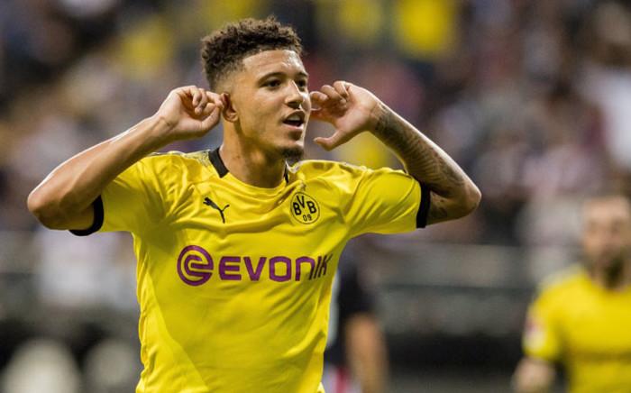 Borussia Dortmund winger Jadon Sancho. Picture: @BlackYellow/Twitter