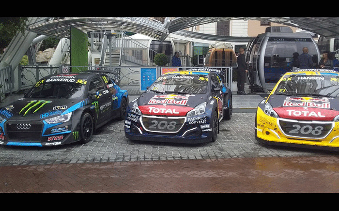 Drivers gear up for FIA World Rallycross Championship. Picture: Ayanda Felem/EWN Sport.