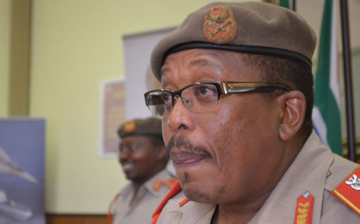 hief of the South African Defense Force General Solly Shoke says withdrawing the troops from the Central African Republic is not an option. Picture: Lesego Ngobeni/EWN.