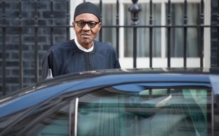 Nigeria's President Muhammadu Buhari. Picture: AFP.